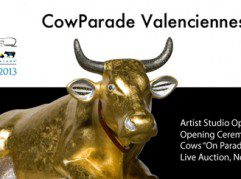 cow parade valenciennes