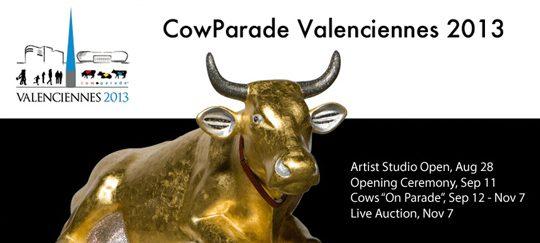 cow parade valenciennes
