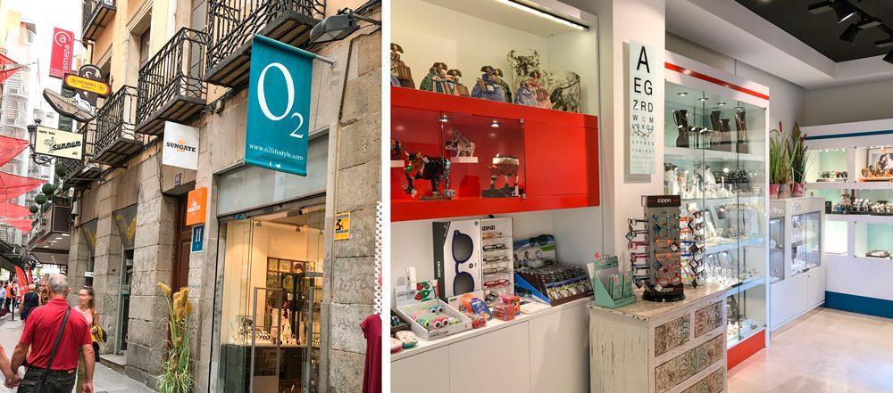 o2 joyería y regalos madrid nuevo local Carmen 16