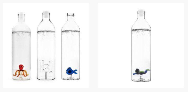 botellas de agua originales