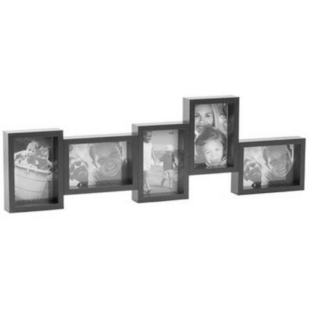 marco-multiple-negro-cinco-fotos