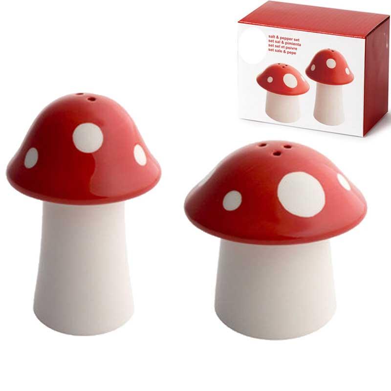Salero pimentero mushroom o2lifestyle for Saleros de cocina