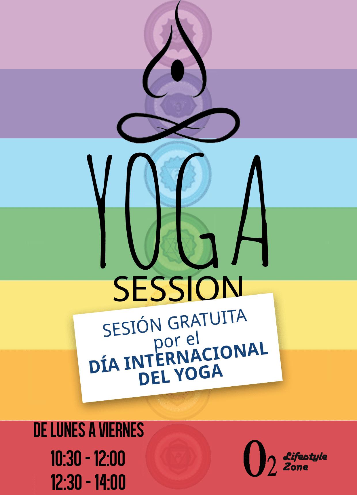 sesión especial gratis día internacional yoga