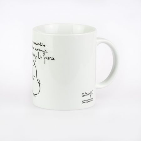 taza mr wonderful soy la pera