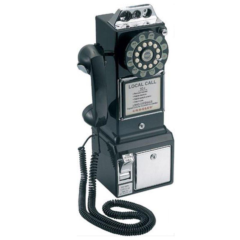 telefono-retro-pared-negro