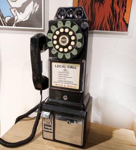 telefono monedas sobremesa o pared