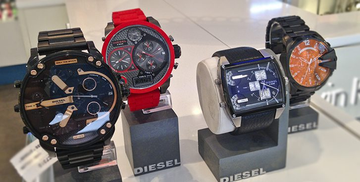 diesel reloj madrid