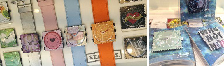 stamps relojes madrid