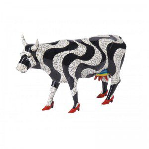 vaca cowparade paraiso tropical