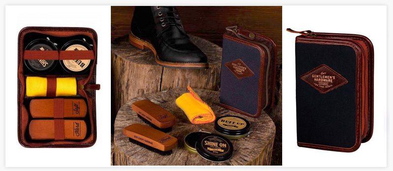 kit original limpieza zapatos hipster