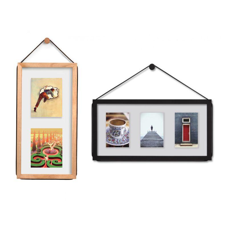 Marco fotos pared marcos de fotos de madera marco de - Marcos para pared ...