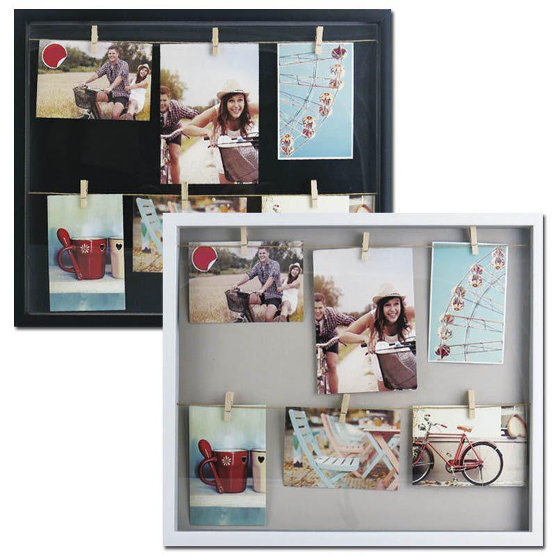 Marco vitrina x6 o2lifestyle - Como hacer un marco de fotos original ...