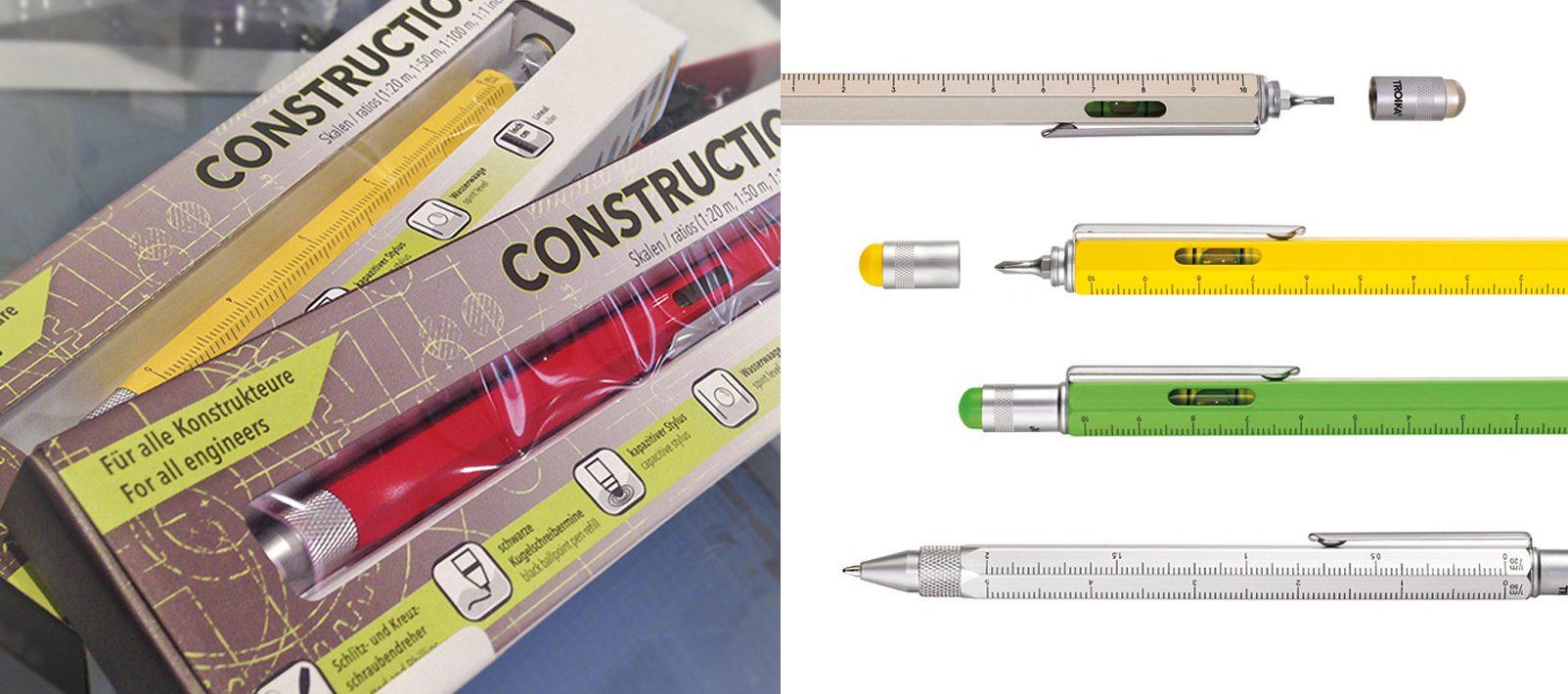 multifuncion construction boligrafo y portaminas