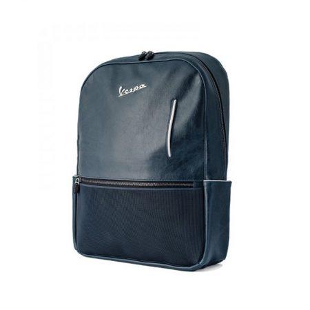 mochila original vespa azul