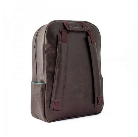 trasera mochila vespa marron