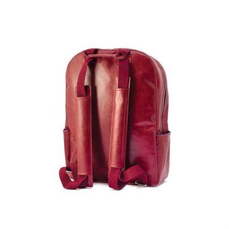 mochila vespa original roja