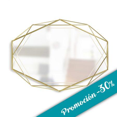 espejo geomtrico prisma promocin