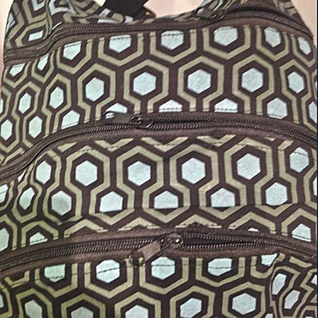 detalle cremalleras bolso mochila