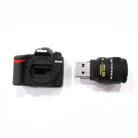 USB 16gb Cámara reflex abierto