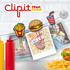 Clips diseño Fast Food Just Mustard