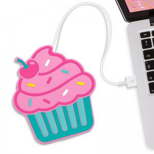 Dispositivo USB diseño Cupcake