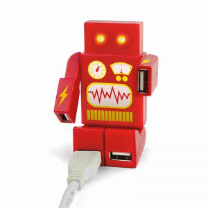 Dispositivo USB diseño robot