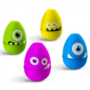 Marcadores en forma de huevo: monstruos