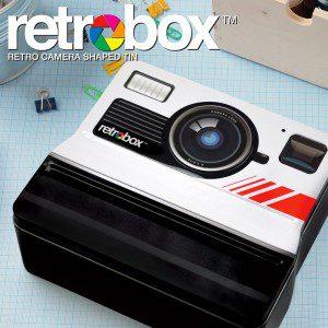 Caja diseño cámara clásica