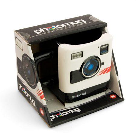 Taza diseño cámara clásica