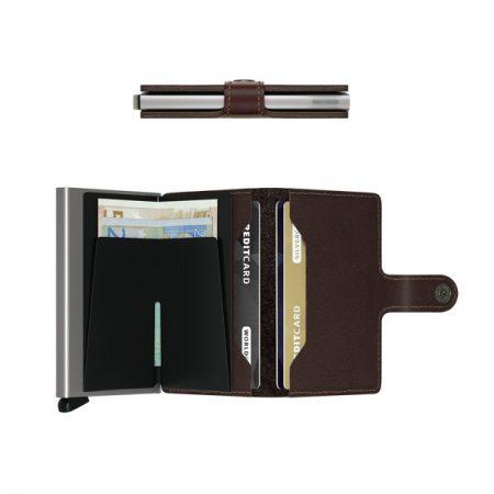 perfil e interior cartera anticopia compacta