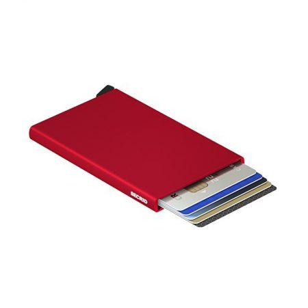 tarjetero secrid cardprotector rojo