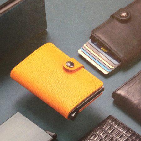gama cartera compacta automatica anticopia