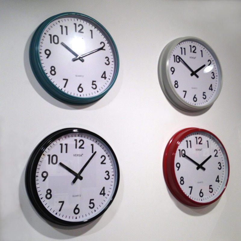 Reloj de pared estilo retro o2lifestyle - Reloj de pared para cocina ...
