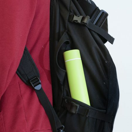 termo slim bottle encaja en tu bolso mochila