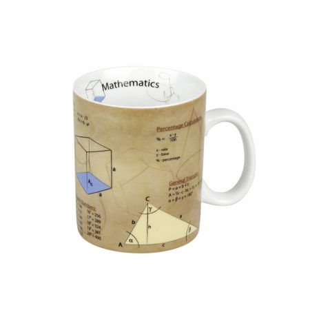 taza universitaria matemáticas