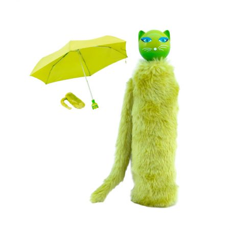 Paraguas gato Amarillo Pylones