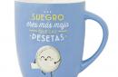 taza original MrWonderful suegro majo pesetas