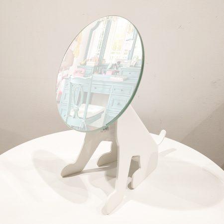 original perro espejo de diseño para tocador