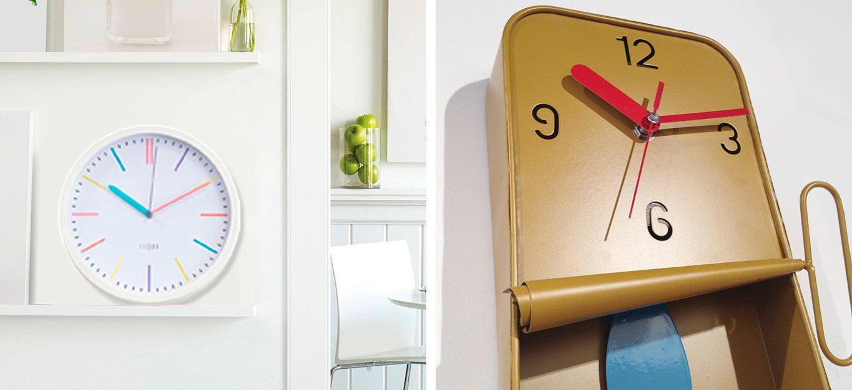 relojes de pared diferentes y originales