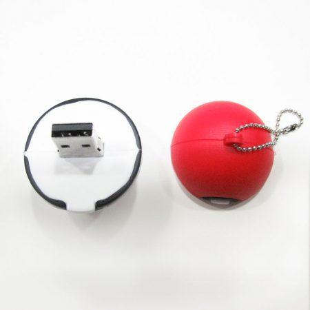 USB 16gb bola Pokémon abierto