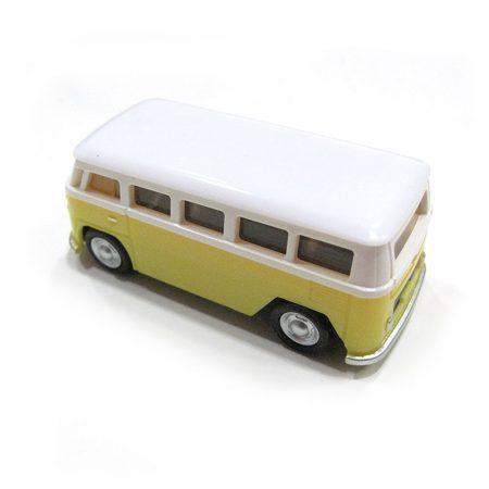 USB 16gb Furgoneta Volkswagen Amarilla detras