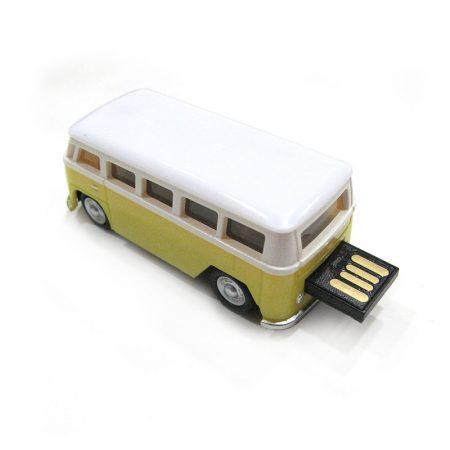 USB 16gb Furgoneta Volkswagen Amarilla USB Fuera