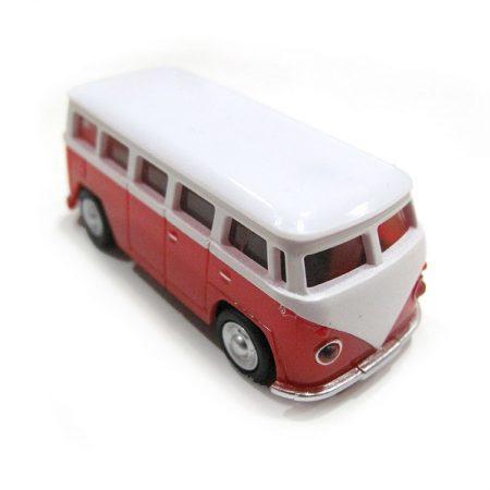 USB 16gb Furgoneta Volkswagen Roja