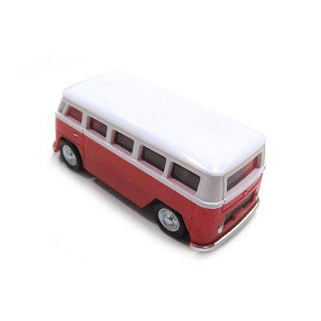 USB 16gb Furgoneta Volkswagen Roja detras