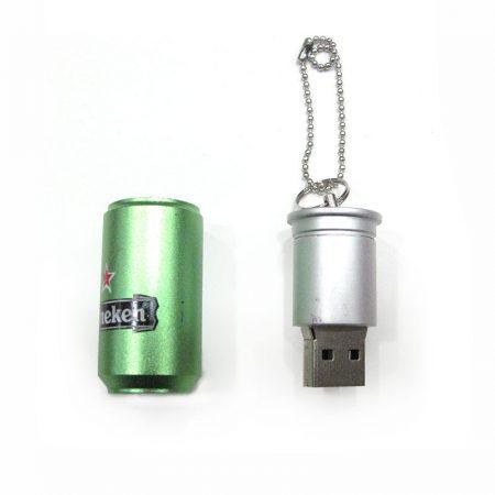 USB 16gb Lata Heineken abierto