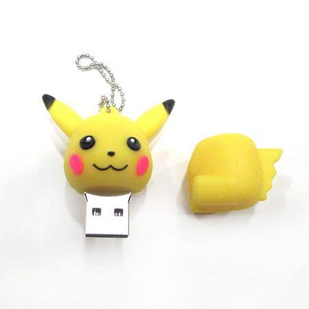USB 16gb Pikachu abierto de lado