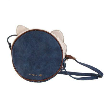 Bolso Disaster mini azul de Cara de gato atrás