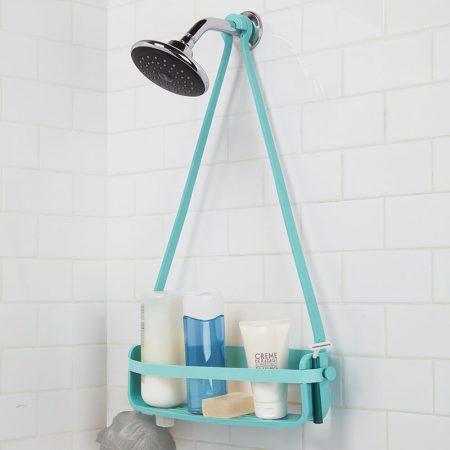 Estantería azul ducha Caddy