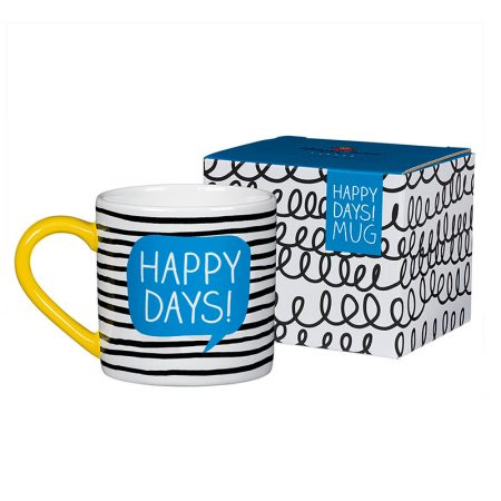 Taza Happy days happy jackson caja