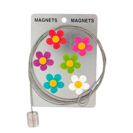 Cable y flores magnética Pylones